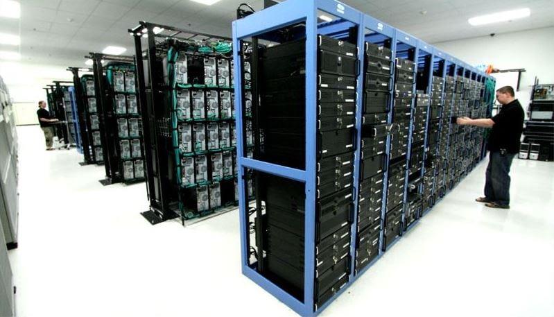 arranged servers
